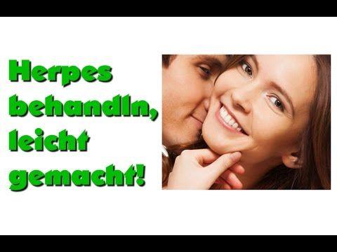 Herpes im Mund Behandlung - Lippenherpes schnell Weg behandeln mit Hausmittel - so wirst du es los - YouTube