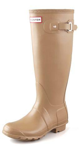 Hunter Boots Original Hunter Wellington Rain Boots love love love the color