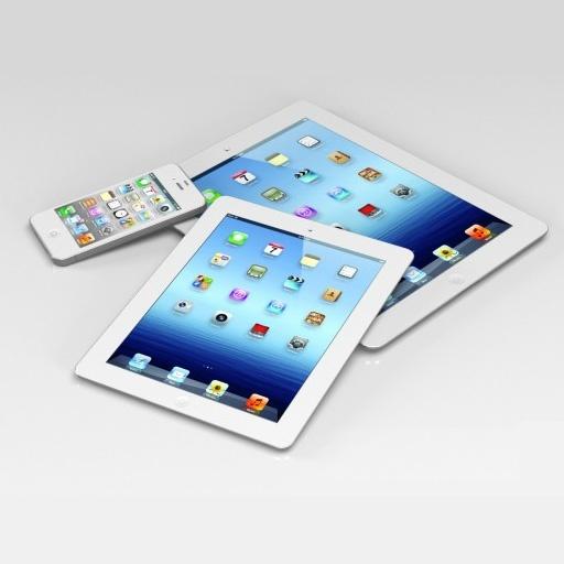 iPhone 5 64Gb White = Check! iPad 4 White = ? iPad Mini Black = ?