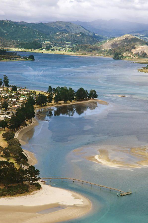 ✮ New Zealand, North Island, Coromandel, Tairua Harbour, view from Paku Summit