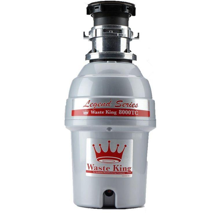 Waste King Legend Series 1.0 HP EZ-Mount Batch Feed Garbage Disposal
