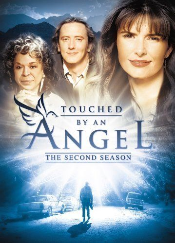 Touched by an Angel  (1994-2003)  -  Stars: Roma Downey, Della Reese, John Dye.  -  Monica, Tess, and Andrew are a trio of angels sent to Earth to tell depressed and troubled people that God loves them and hasn't forgotten them.  -  DRAMA / FAMILY / FANTASY