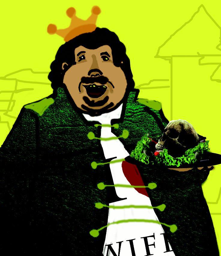Ilustración Ubú Rey