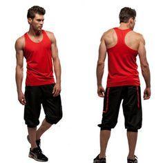 Met deze outfit steel jij de show in de sportschool! Laat jou spieren zien in dit shirt, simpel en toch comfortabel.
