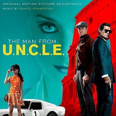 OST / Soundtrack : Man From U.N.C.L.E. - LP | Bontonland.cz