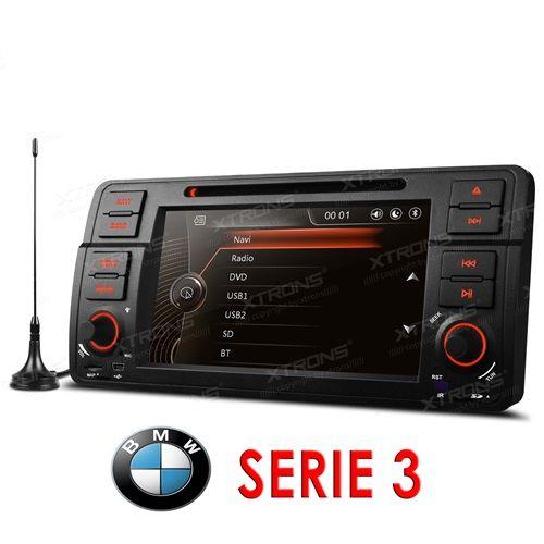 Autoradio 2 Din para BMW E46 Serie 3 Gps, Tdt, 3G