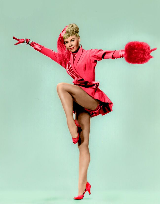 "Vera Ellen still from the ""Choreography"" dance number in the movie ""White Christmas"""