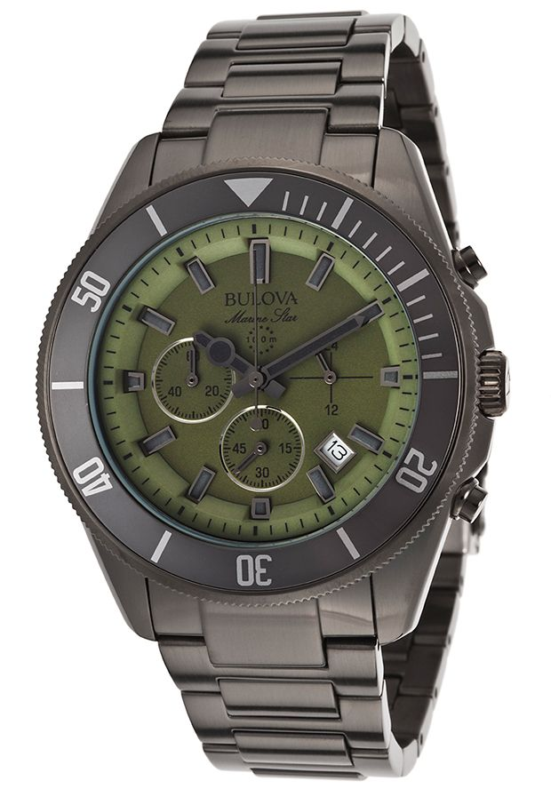 Bulova 98B206 Watches,Men's Marine Star Chronograph ...
