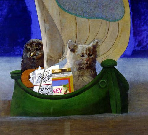 Peter Blake, The Owl and the Pussycat, 1981-83