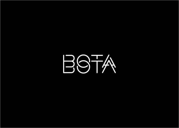 Bota Bota - branding by Gabriel Lefebvre, via Behance