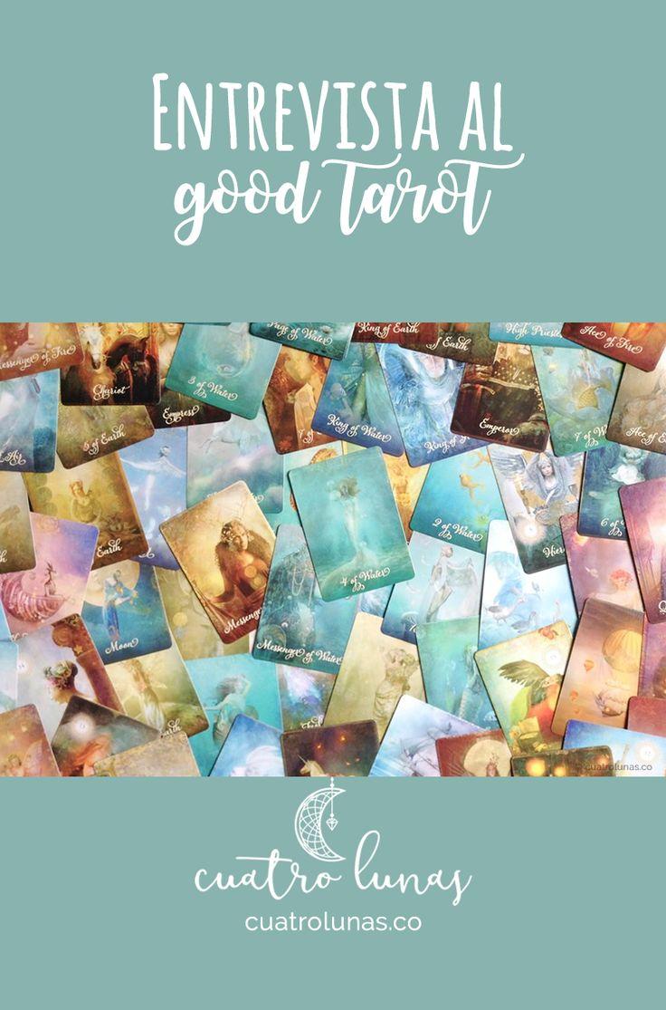 Conoce the Good Tarot creado por Colette Baron-Reid. Una baraja que te llevará a un mundo mágico