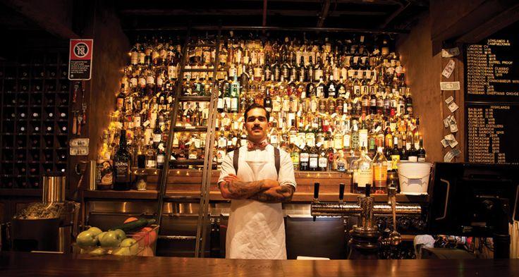 Baxter Inn, 152-156 Clarence St, Sydney A whisky lover's heaven hidden down a laneway in Sydney's CBD.