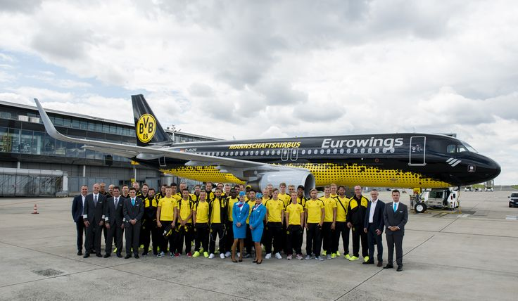 """Take-off for the """"Mannschaftsairbus"""" Get the whole story!  http://www.independentsportsnews.com/2016/07/14/take-off-for-the-mannschaftsairbus/"""
