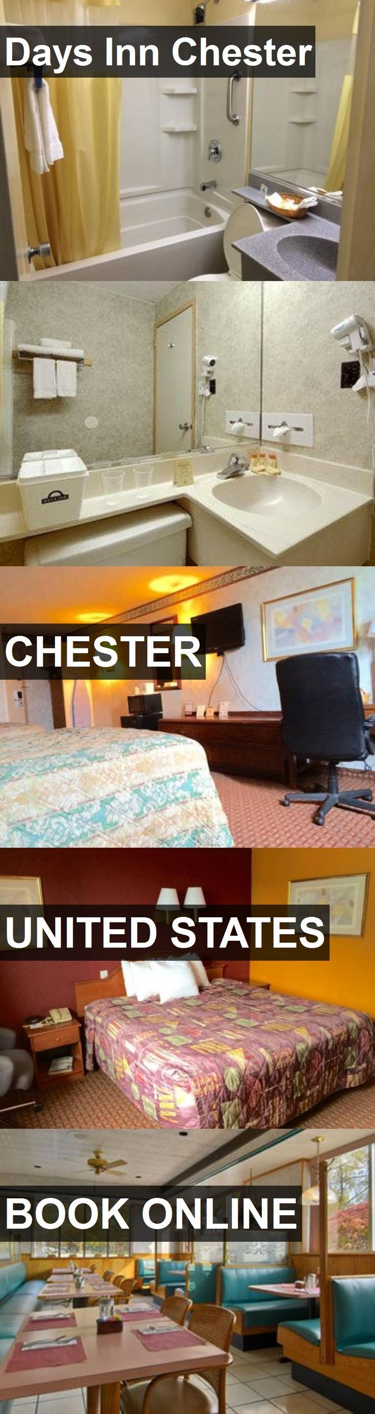 Hotel Days Inn Chester in Chester, United States. For more information, photos, reviews and best prices please follow the link. #UnitedStates #Chester #DaysInnChester #hotel #travel #vacation