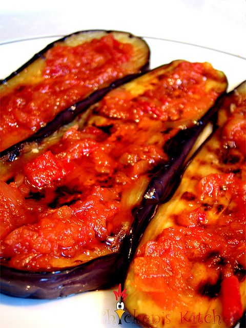 Can't take My Eyes of this food! indonesian Hot Spicy Eggplant Recipe (Terong Balado)