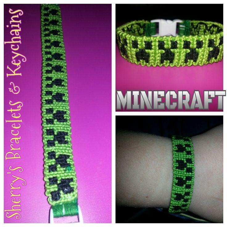 minecraft friendship bracelet pattern - Google Search
