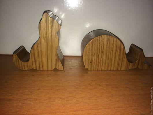 Для телефонов ручной работы. Ярмарка Мастеров - ручная работа. Купить Деревянные подставки для телефона, планшета. Handmade. Подставка для телефона