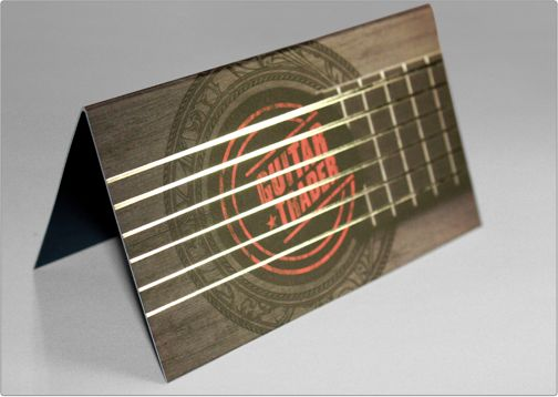 29 best guitar business card images on pinterest corporate silver foil business card design steps which help you to design memorable business cards colourmoves