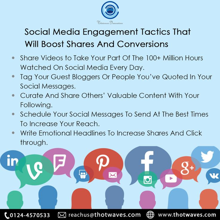 Increase the engagement of the audience with these tips!