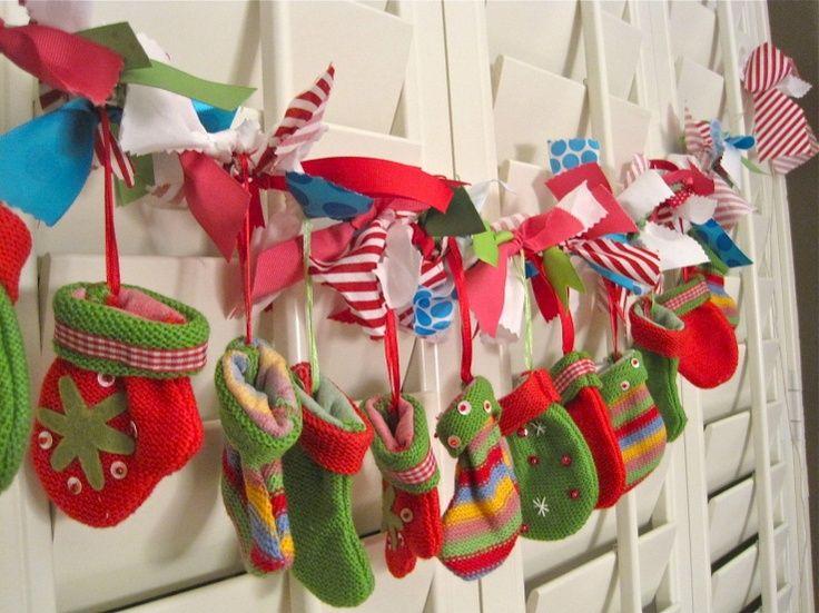 christmas advent calendar ideas | DIY Advent Calendar | Advent calendar
