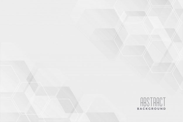 Download Abstract Hexagonal White Background Design For Free Background Design White Background Abstract White background images hd download