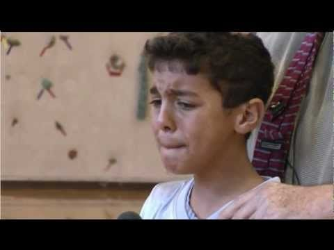 This Boy Stands In Front Of His School And Speaks To The Bullies. What He Says BREAKS Me. | Diply