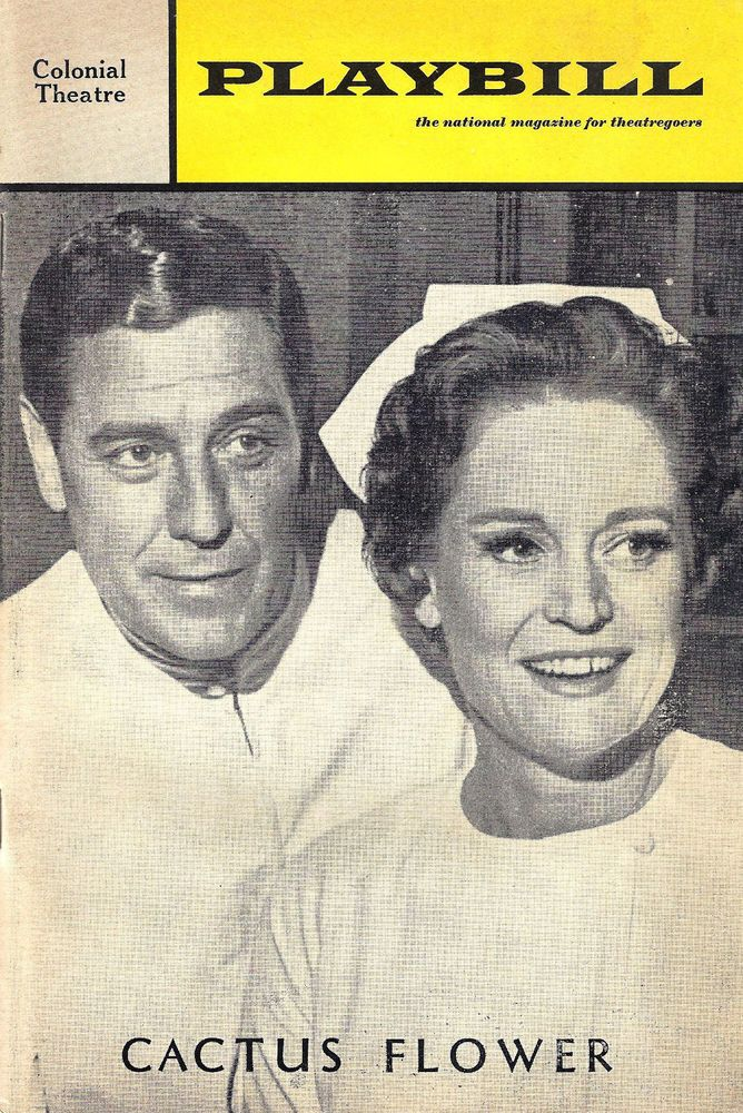 "Craig Stevens and Alexis Smith in ""Cactus Flower"" 