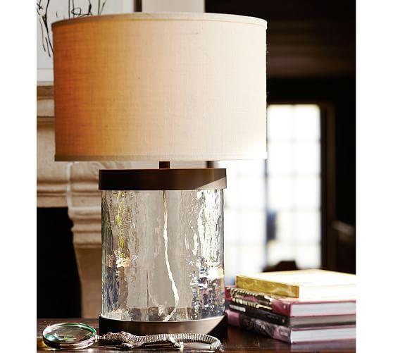 Murano glass table lamp base