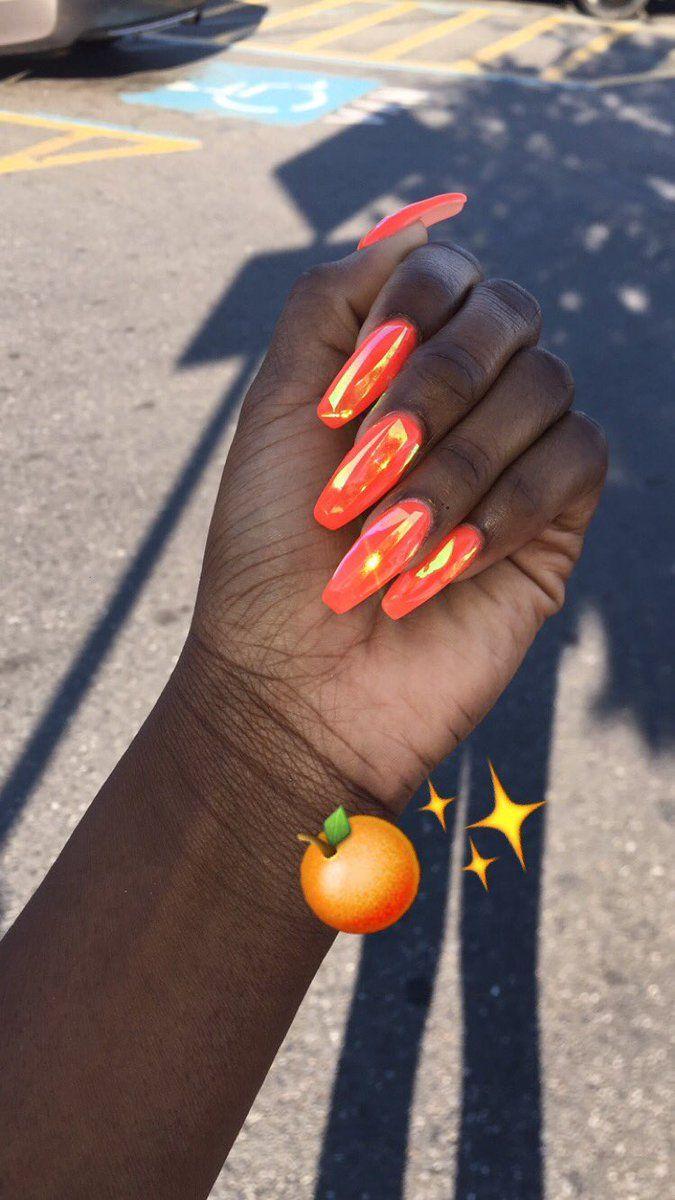 Beautiful nails ✨|| To see more follow @Kiki&Slim
