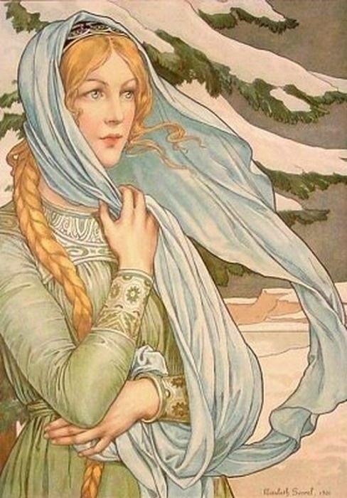 Winter, Elisabeth Sonrel