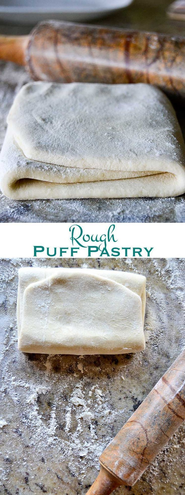 "Buttery, flaky, rough puff pastry: With a fraction of the time and effort of traditional puff pastry and a taste so good you'll forget it's not ""authentic."""