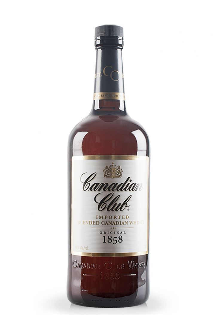 Whisky Canadian Club, Blended Canadian whisky (1L) - SmartDrinks.ro