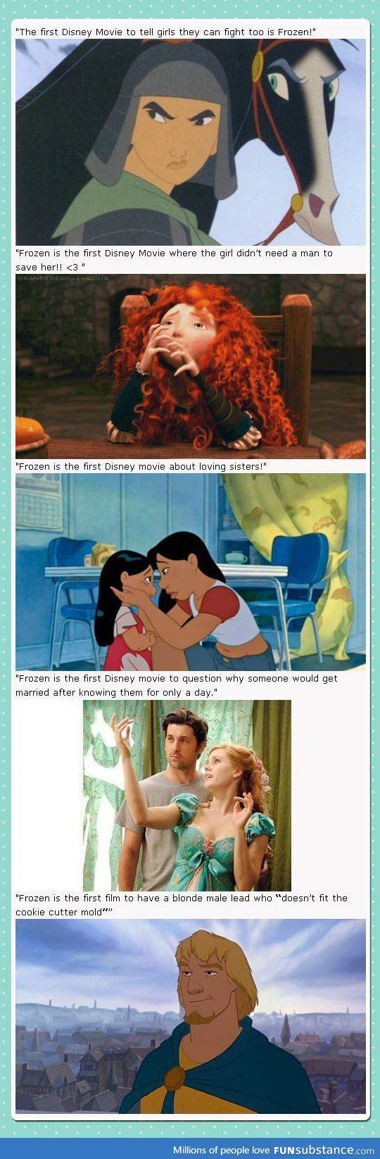 Frozen is good! But...