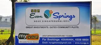 Plots in singaperumalkoil - Search residential plots in singaperumalkoil at myvgp properties.Get best plots for sale in singaperumalkoil within your budget.