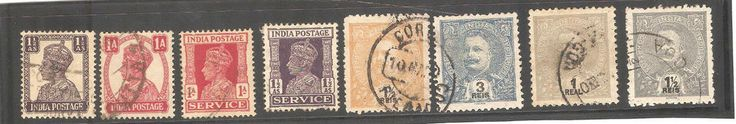 Stamps from India