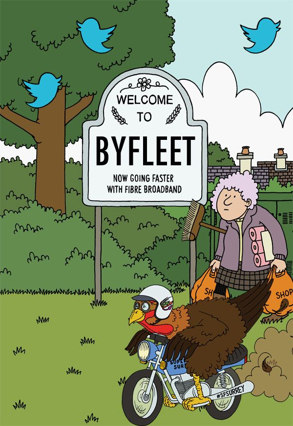 Live in Byfleet? Check your fibre broadband availability now - Superfast Surrey