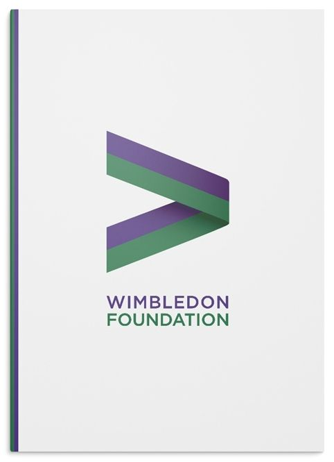 Hat-Trick Design has created the identity for the Wimbledon Foundation, a new body that brings together the tennis organisation's community and charity work.