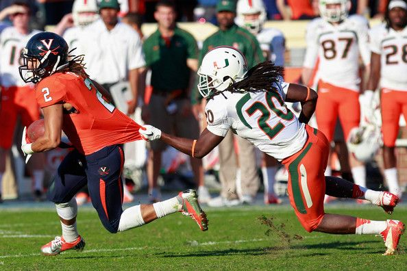 NCAA Football Betting: Free Picks, TV Schedule, Vegas Odds, Virginia Cavaliers vs. Miami Hurricanes, November 7th 2015