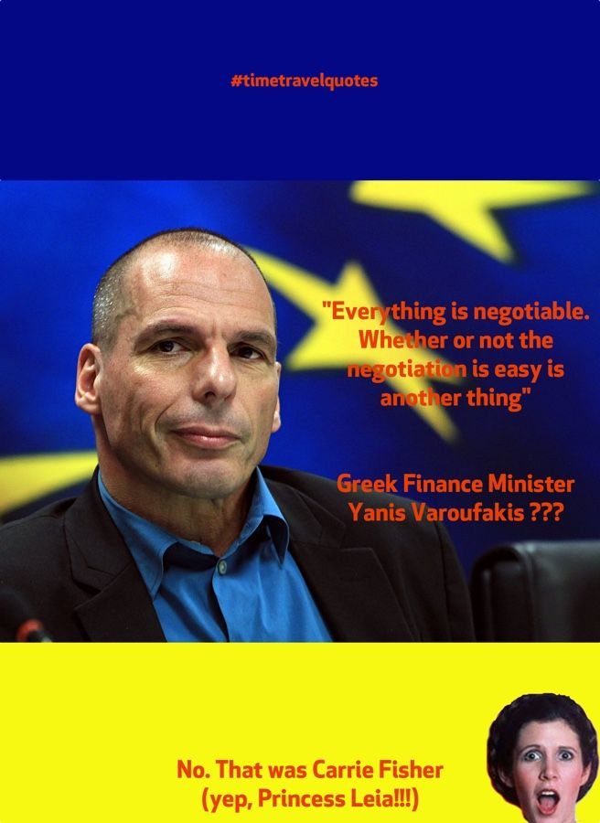 Is everything negotiable for Greece?