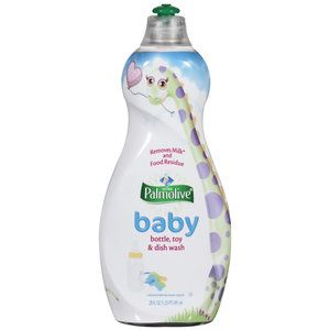 When searching for the right dish detergent for my baby boy's bottles, I decided that I would try this.  I've used Dapple before, and to me the Polmolive Baby not only left a wonderful smell in my kitchen, but it left the bottles cleaner, and it was much easier to rinse.