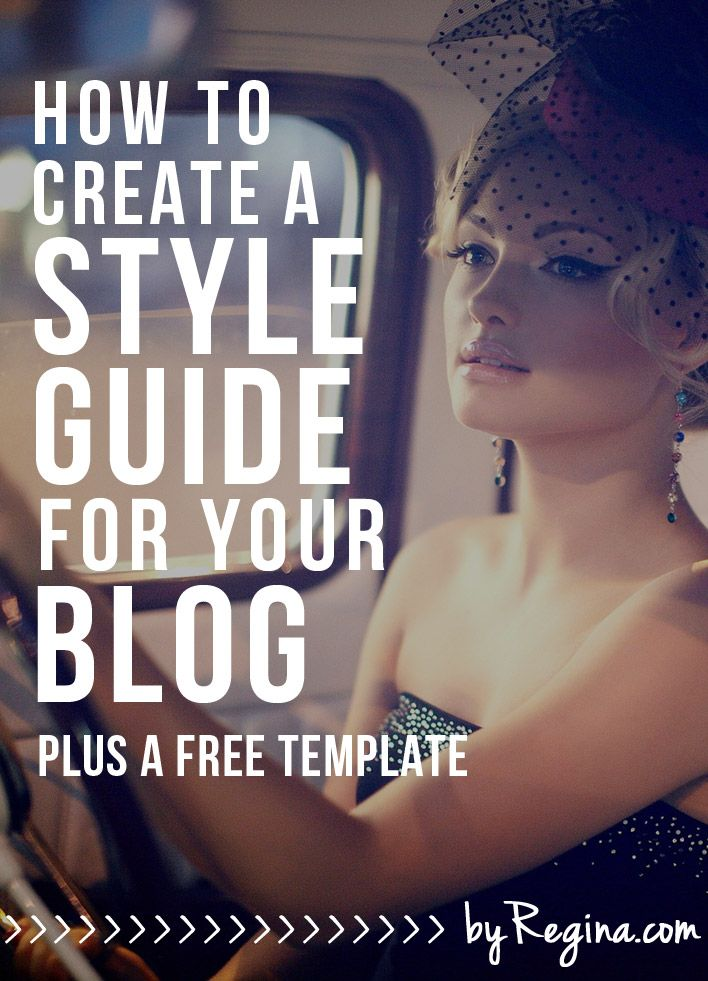 How to Create a Style Guide for Your Blog or Brand Brand style - guide templates