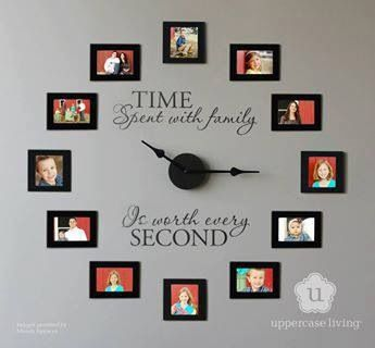 you could take a pic of ur child each month, 12 months, 12 pics....   Uppercase Living.  Http://Www.alandis.uppercaseliving.net