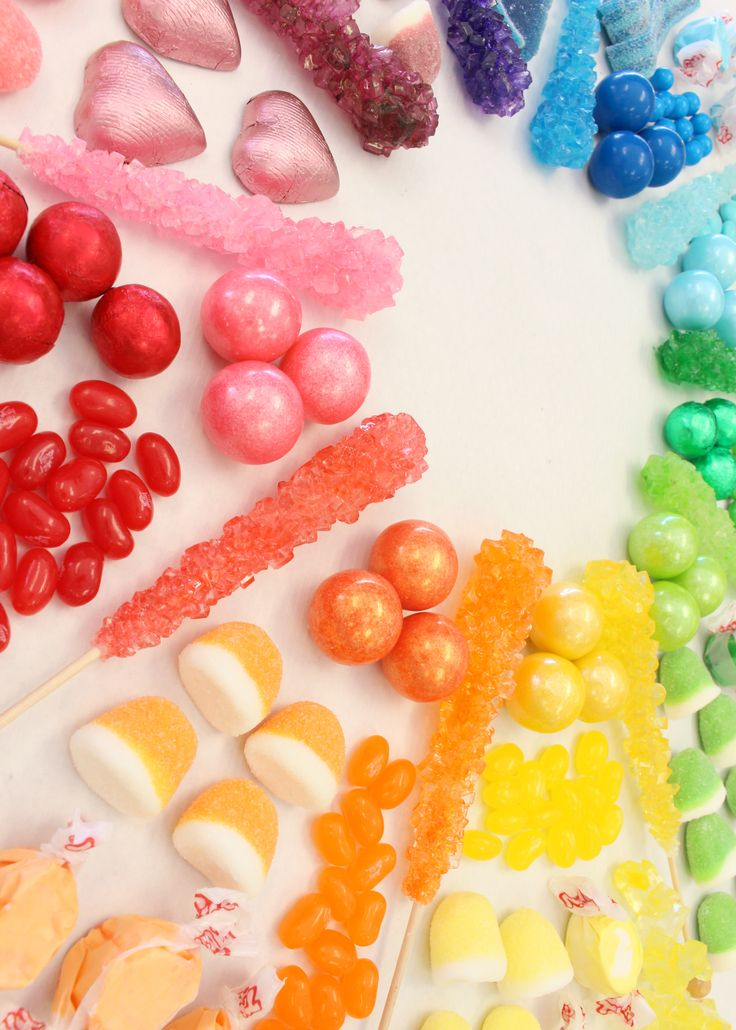 Let your sweet tooth go with a super sweet candy bar!  Shop the collection of colorful candy.