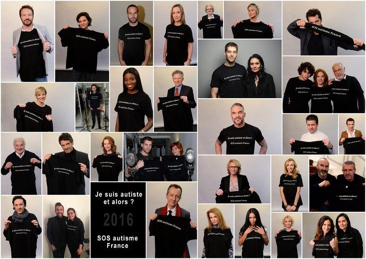 Fauve Hautot, Jérémy Michalak ainsi que d'autres célébrités participent à une nouvelle campagne de sensibilisation de SOS Autisme.