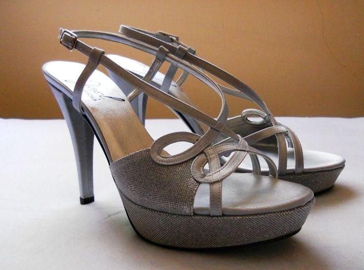 #Sandali Joel #Shoes, colore argento, tacco 12, taglia 37 a soli 45 euro! #ebay #shopping