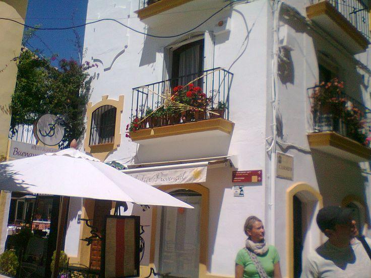 Window in Old Town, Marbella