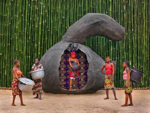 Patrick Willocq, Walé Ikita, confident and shameless, 2014