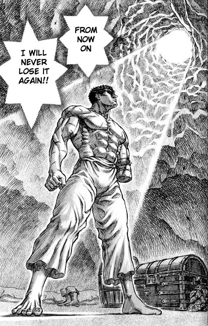 Gatsu's determination