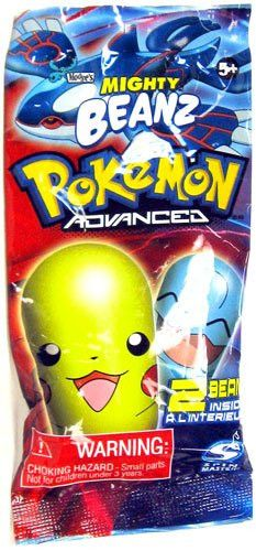 Moose's Mighty Beanz Pokemon Advanced 2 Beanz, Beans by Spin Master