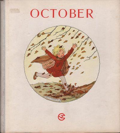 Rie Cramer, maandenboeken : October, wijnmaand. 1